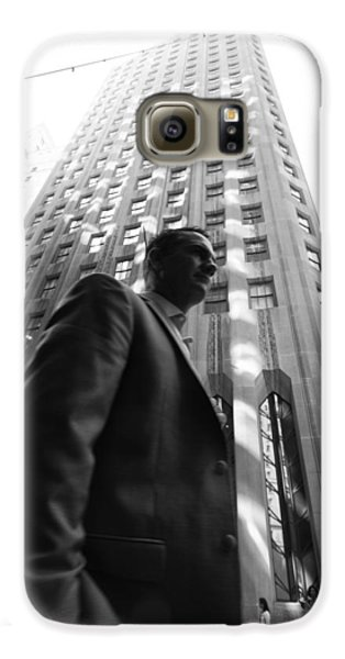 Wall Street Man II Galaxy S6 Case by Dave Beckerman