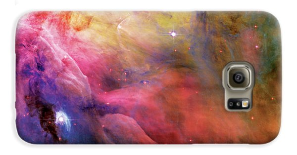 Warmth - Orion Nebula Galaxy S6 Case by Jennifer Rondinelli Reilly - Fine Art Photography