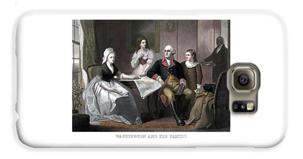 Washington And His Family Galaxy S6 Case