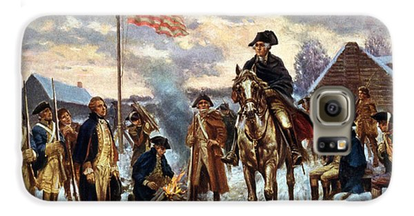 Boy George Galaxy S6 Case - Washington At Valley Forge by Unknown