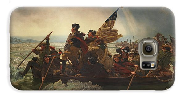 George Washington Galaxy S6 Case - Washington Crossing The Delaware by War Is Hell Store