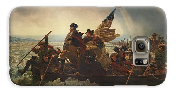 Washington Crossing The Delaware Galaxy S6 Case by War Is Hell Store