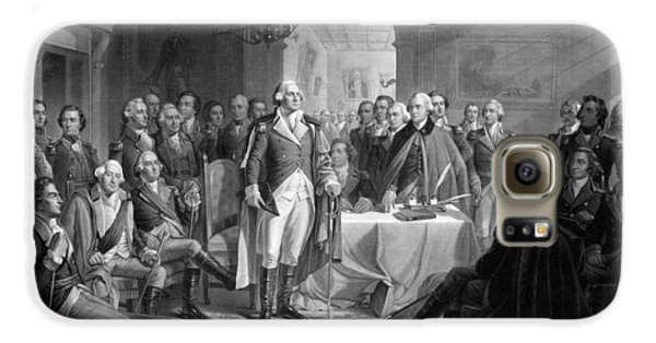 Washington Meeting His Generals Galaxy S6 Case