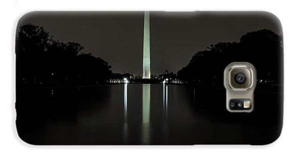 Washington Monument At Night Galaxy S6 Case