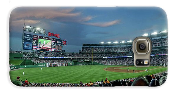 Washington D.c Galaxy S6 Case - Washington Nationals In Our Nations Capitol by Thomas Marchessault