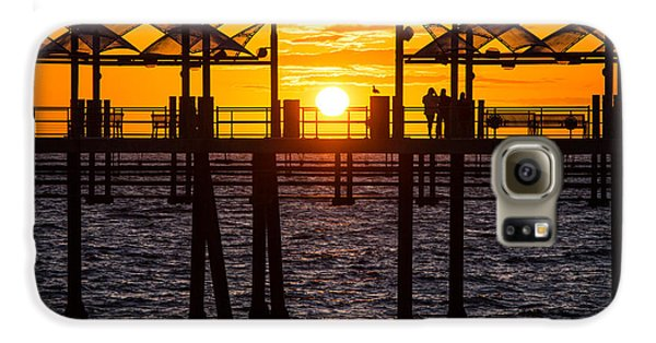 Watching The Sunset Galaxy S6 Case
