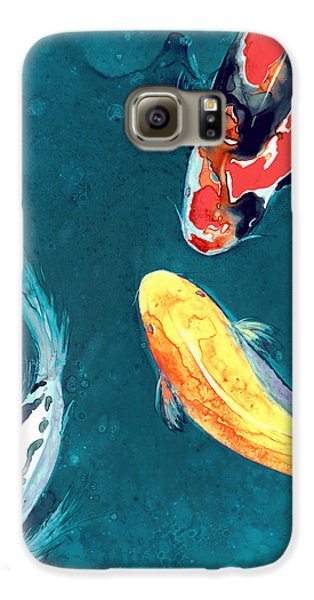 Water Ballet Galaxy S6 Case by Brazen Edwards