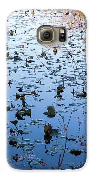 Water Lilies Autumn Song Galaxy S6 Case