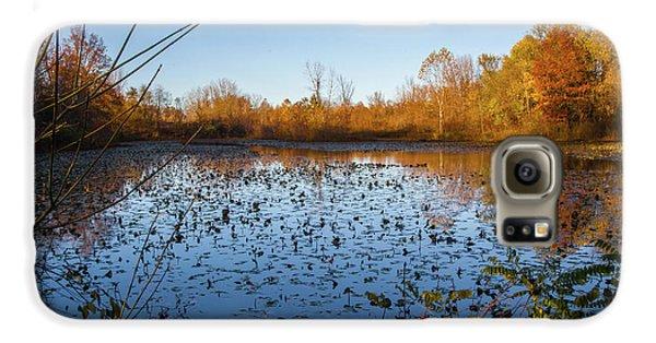 Water Lily Evening Serenade Galaxy S6 Case