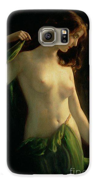 Water Nymph Galaxy S6 Case by Otto Theodor Gustav Lingner