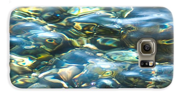 Galaxy S6 Case featuring the photograph Water World, Square by Yulia Kazansky