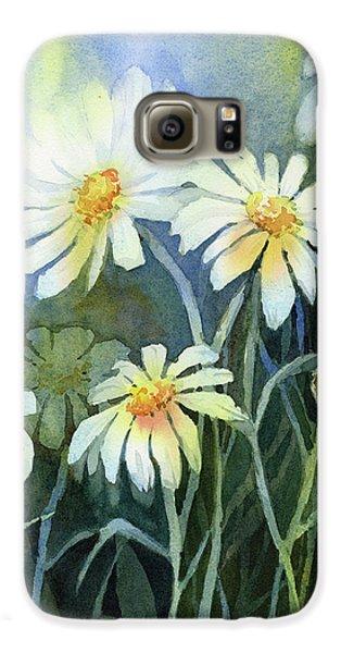 Daisy Galaxy S6 Case - Daisies Flowers  by Olga Shvartsur