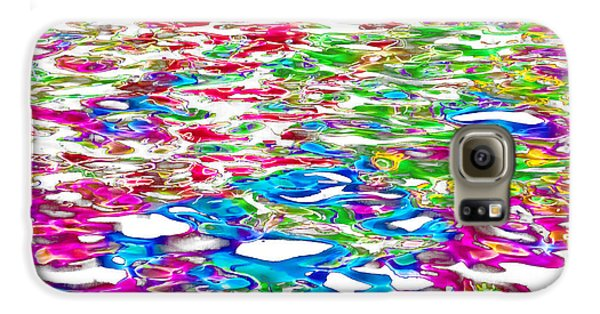 Colours Galaxy S6 Case - Watercolors by Az Jackson