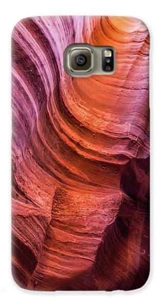 Waterholes Canyon Ribbon Candy Galaxy S6 Case