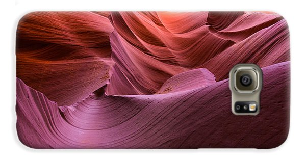 Waves-lower Antelope Canyon Galaxy S6 Case