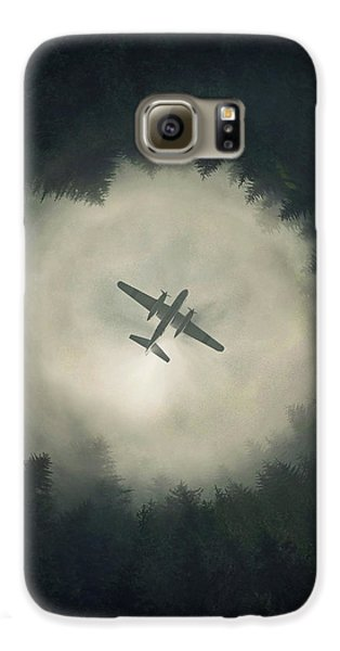 Airplane Galaxy S6 Case - Way Out by Zoltan Toth