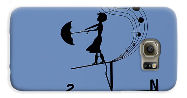 Weathergirl Galaxy S6 Case