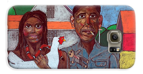 Voodoo Galaxy S6 Case - Welcome Home America by David Hinds