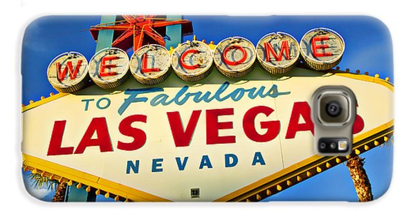 Travel Galaxy S6 Case - Welcome To Las Vegas Sign by Garry Gay