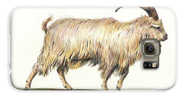 Welsh Long Hair Mountain Goat Galaxy S6 Case