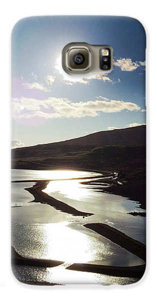 Sunny Galaxy S6 Case - West Fjords Iceland Europe by Matthias Hauser
