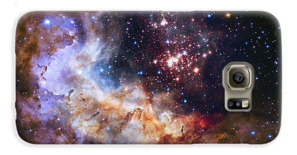 Westerlund 2 - Hubble 25th Anniversary Image Galaxy S6 Case