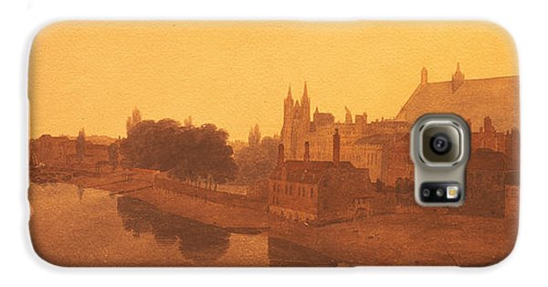 Westminster Abbey  Galaxy S6 Case by Peter de Wint