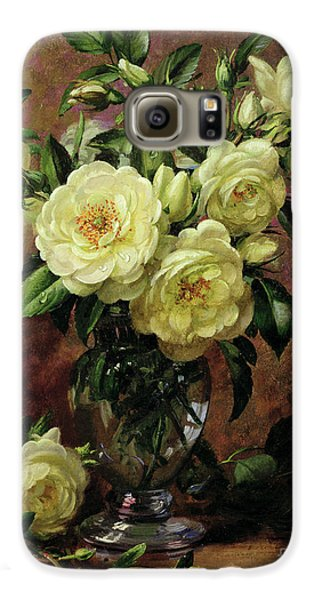 White Roses - A Gift From The Heart Galaxy S6 Case