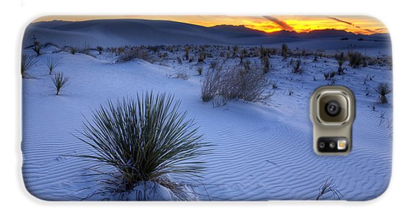 Desert Galaxy S6 Case - White Sands Sunset by Peter Tellone
