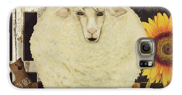 Sheep Galaxy S6 Case - White Wool Farms by Mindy Sommers