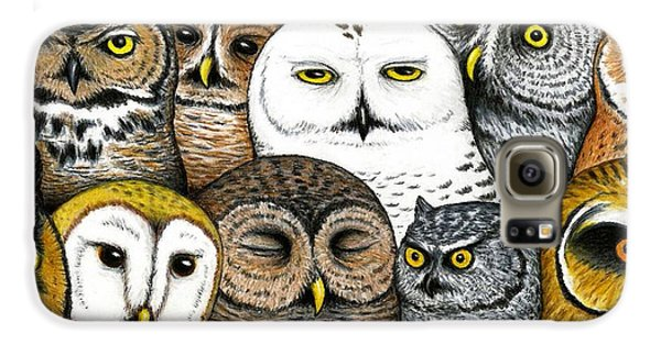 Who's Hoo Galaxy S6 Case by Don McMahon