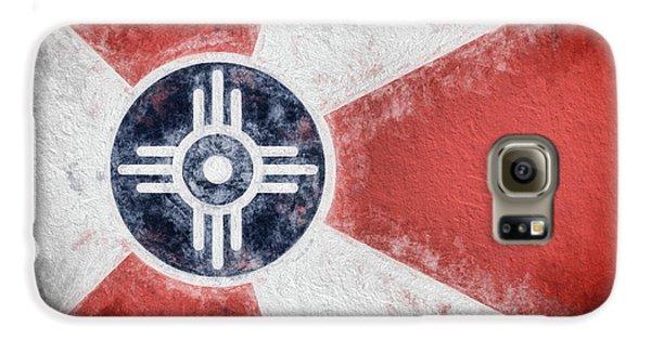 Galaxy S6 Case featuring the digital art Wichita City Flag by JC Findley