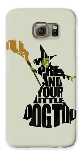 Wicked Witch Of The West Galaxy S6 Case by Ayse Deniz