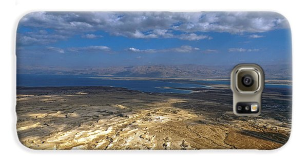 Wide View From Masada Galaxy S6 Case by Dubi Roman