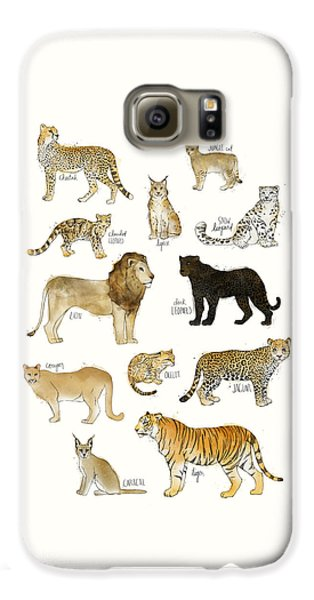 Wild Cats Galaxy S6 Case