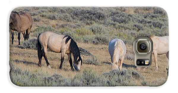 Wild Mustang 11 Galaxy S6 Case
