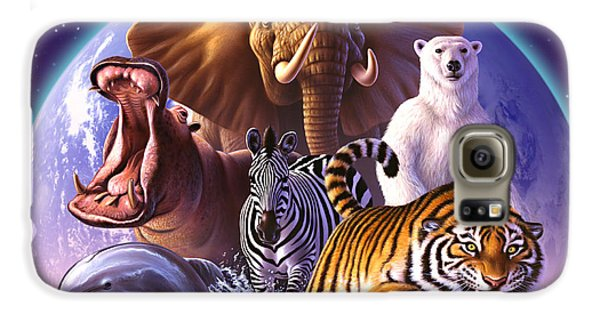 Wild World Galaxy S6 Case by Jerry LoFaro