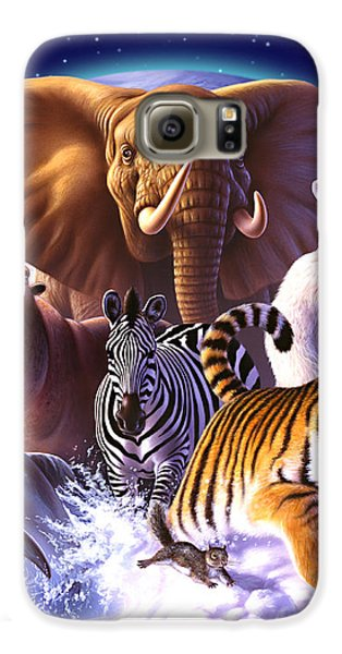 Wild World Galaxy S6 Case