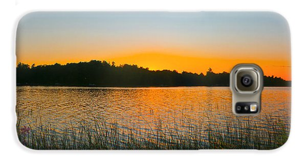 Wilderness Point Sunset Panorama Galaxy S6 Case by Gary Eason