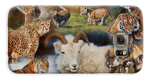 Wildlife Collage Galaxy S6 Case