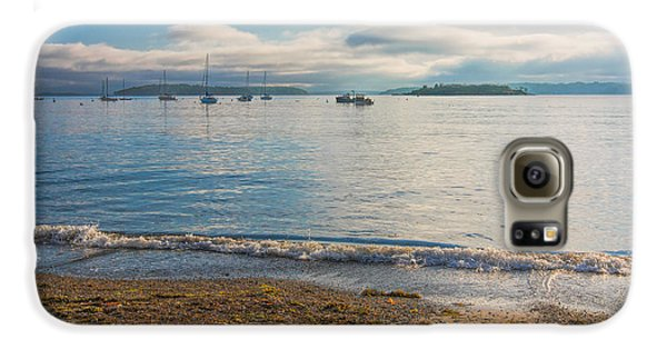 Willard Beach Galaxy S6 Case by Kim Wilson
