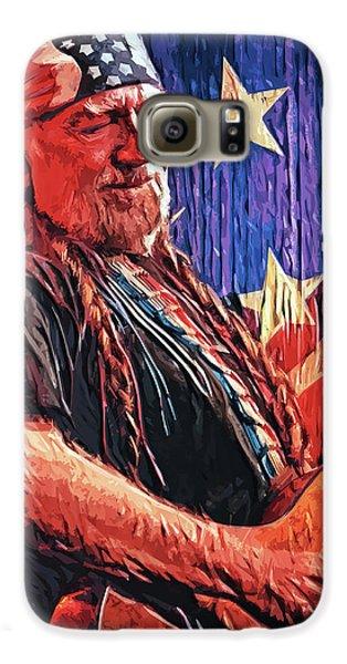Willie Nelson Galaxy S6 Case