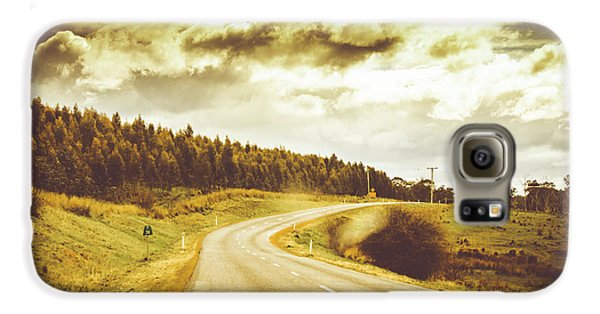 Window To A Rural Road Galaxy S6 Case by Jorgo Photography - Wall Art Gallery