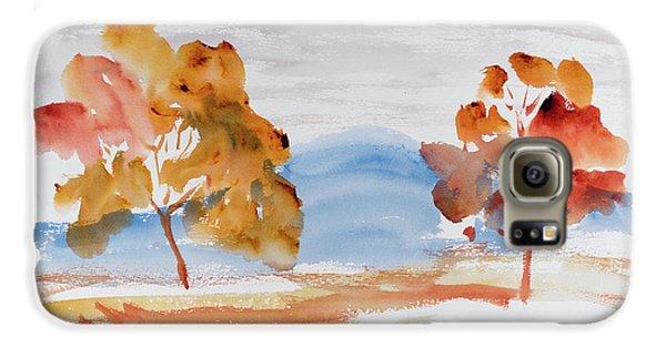Windy Autumn Colours  Galaxy S6 Case
