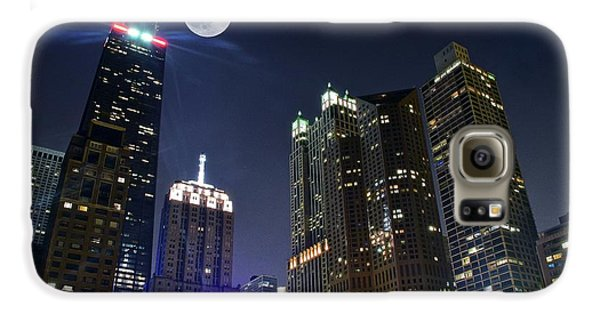 Wrigley Field Galaxy S6 Case - Windy City by Frozen in Time Fine Art Photography