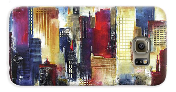 Windy City Nights Galaxy S6 Case