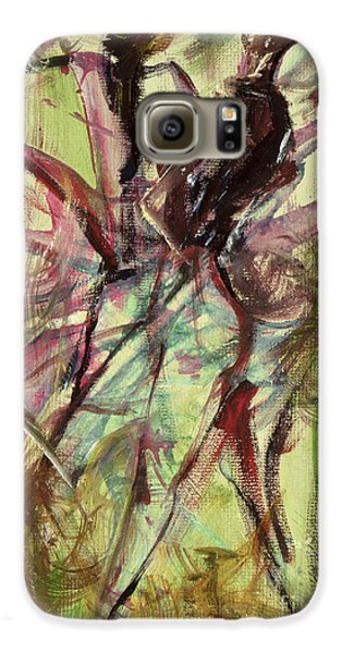 Harlem Galaxy S6 Case - Windy Day by Ikahl Beckford