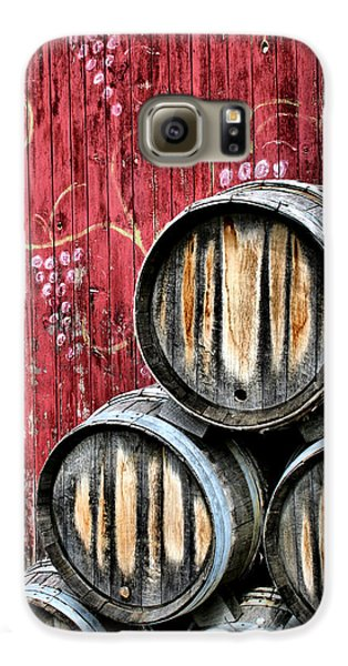 Wine Barrels Galaxy S6 Case by Doug Hockman Photography