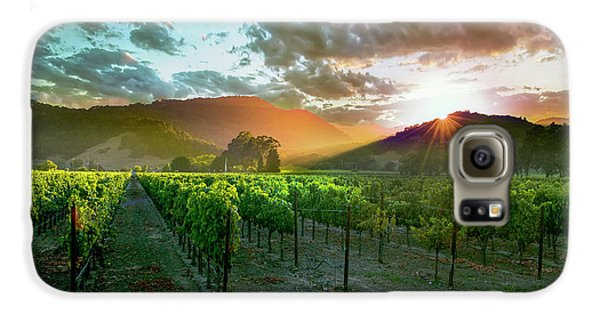 Wine Country Galaxy S6 Case