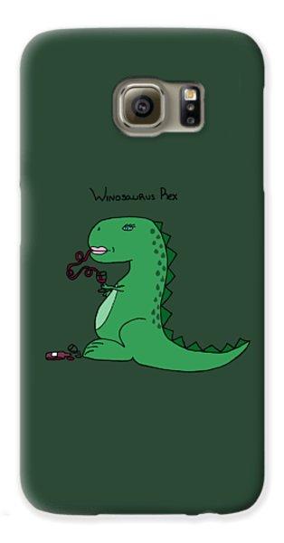 Winosaurus Rex Galaxy S6 Case